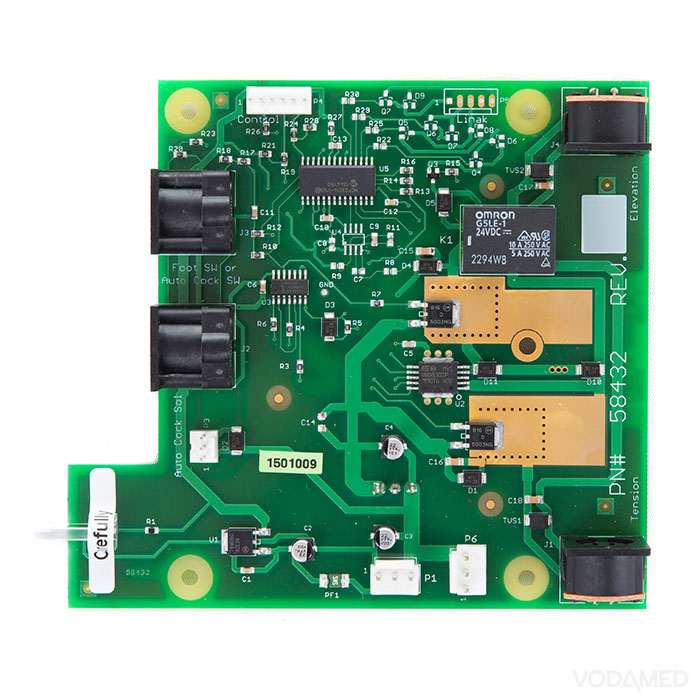 Driver board PCB assembly FX