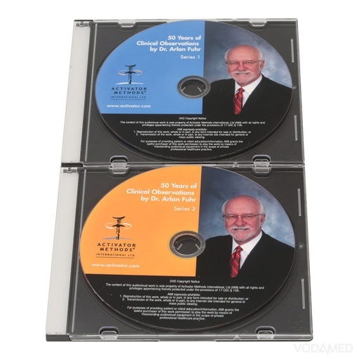 50 Years of Clinical Observations DVD Set